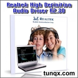 Realtek high definition audio driver r2.30