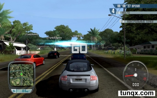 Test drive unlimited - золотое издание [v.1.66a] (2008) pc | лицензия. Скриншот №3